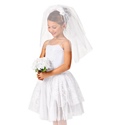 Going to the Chapel Girls Romantic Tutu Dress
