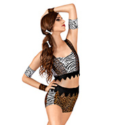 Animal Instinct Adult Unitard Costume