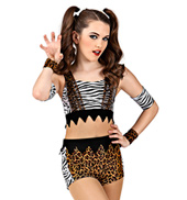 Animal Instinct Girls Unitard Costume