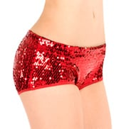 Adult Sequin Hot Dance Shorts