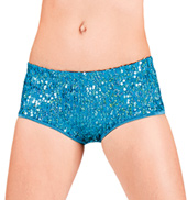 Junior Sequin Hot Dance Shorts