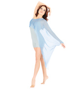Adult Chiffon Poncho