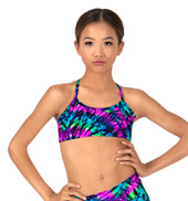 Child Kaleidoscope Camisole Bra Top