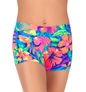 Child Tahitian Dance Shorts