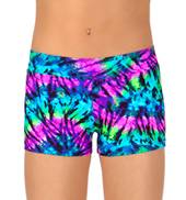 Child Kaleidoscope Dance Shorts