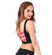 Adult Interlocking Strap Tank Bra Top