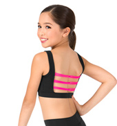 Girls Interlocking Strap Tank Bra Top
