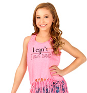 Child I Cant I Have Dance Tank Top