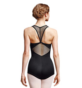 Adult Jet Diamond Mesh Racerback Tank Biketard