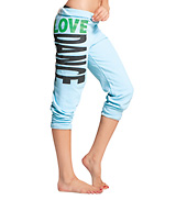Adult and Child Love Dance Crop Sweat Pants