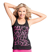 Adult and Child Dancin Young Wild &amp; Free Tank Top