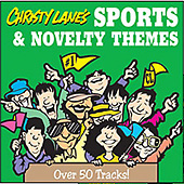 Christy Lanes Sports Music and Novelty Themes Music CD