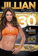 Jillian Michaels: Ripped in 30 DVD