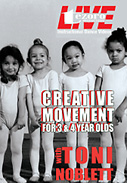 Broadway Dance Center: Creative Movement DVD for 3 &amp; 4 Year Olds