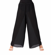 Child Black Palazzo Worship Pant