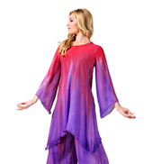 Womens Worship Long Sleeve Tunic