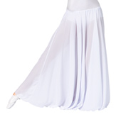 Womens Solid Worship Long Skirt