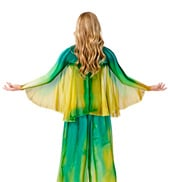 Plus Size Worship Winged Shrug