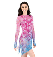 Adult Long Sleeve Lace Overdress with Thumbholes