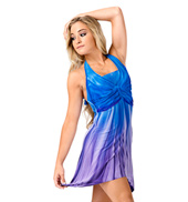 Halter Tie-Dye Dress