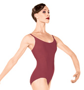 Kitri Adult Ribbed Camisole Leotard