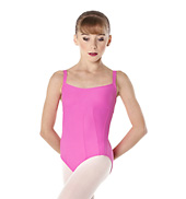 Bacara Child Contour Seam Camisole Leotard
