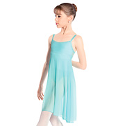 Carla Adult Sheer Panel Dance Dress