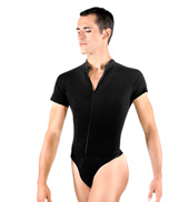 Condor Mens Zip Front Leotard with Built-In Dance Belt