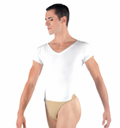 Mens Ivan V-Neck Leotard with Built-In Dance Belt