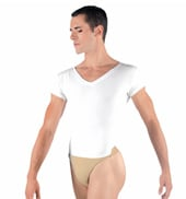 Ivan Mens V-Neck Leotard with Built-In Dance Belt