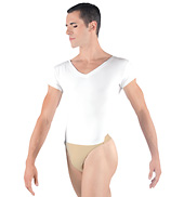 Ivan Boys V-Neck Leotard with Built-In Dance Belt