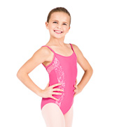 Child Diamina Lace Camisole Leotard