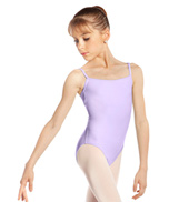 Girls Microfiber Camisole Leotard