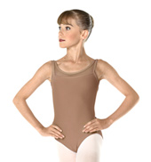 Adult Ribbed Tank Leotard