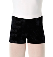 Girls Velvet Dance Short
