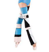 Adult Padova Abstract Color Bell Legwarmers