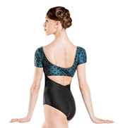 Adult Irma Swiss Dot Cap Sleeve Leotard