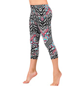 Girls Aztec Print Leggings