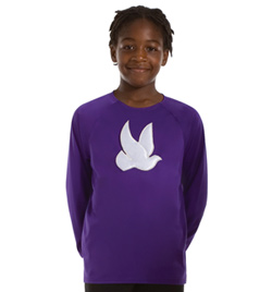 Child Long Sleeve Praise Wear Top - Style No 0540