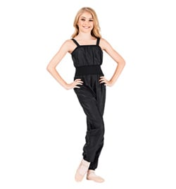 Girls Ripstop Tank Overall - Style No 072