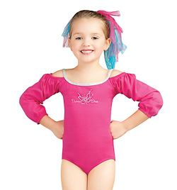 Child Rock Ballerina Long Sleeve Leotard - Style No 10027C