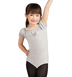 Child Rock Ballerina Cap Sleeve Leotard - Style No 10029C