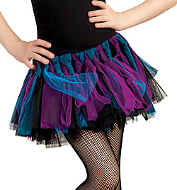 Child Rock Ballerina Knotted Tutu - Style No 10031C