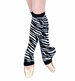 Zebra Legwarmers - Style No 1060Z