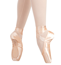 Tiffany Pointe Shoe Hard Shank - Style No 128