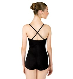 Shorty Unitard with Criss-cross Straps - Style No 1505x