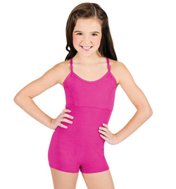 Child Shorty Camisole Unitard - Style No 1505C