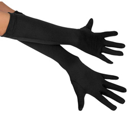"Child 15"" Long Stretch Gloves - Style No 15912"