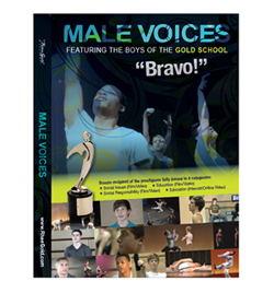 Male Voices 6 Part Miniseries DVD - Style No 160RGM