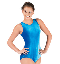 Adult Basic Velvet Tank Leotard - Style No 2011